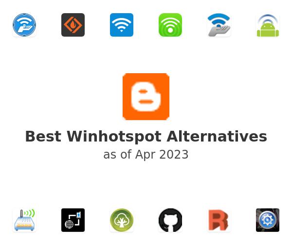 Best Winhotspot Alternatives