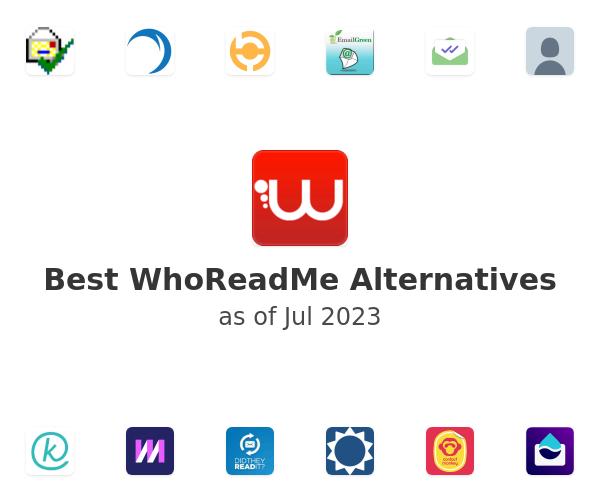 Best WhoReadMe Alternatives