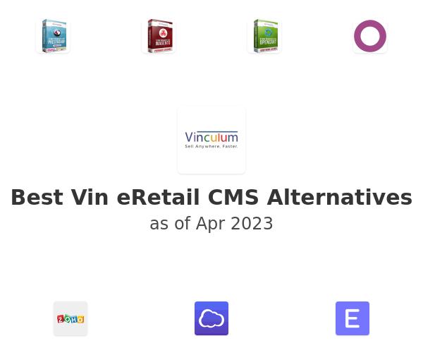 Best Vin eRetail CMS Alternatives