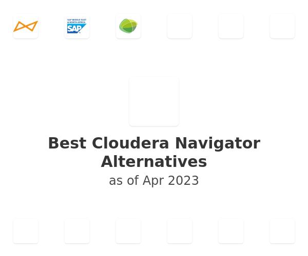 Best Cloudera Navigator Alternatives