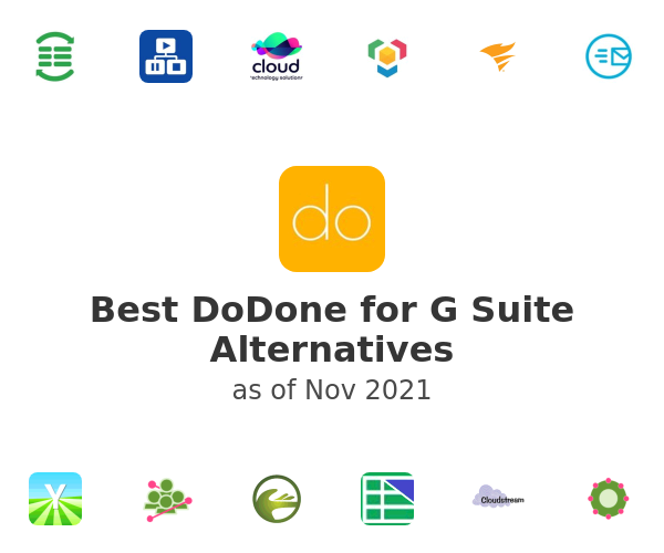 Best DoDone for G Suite Alternatives