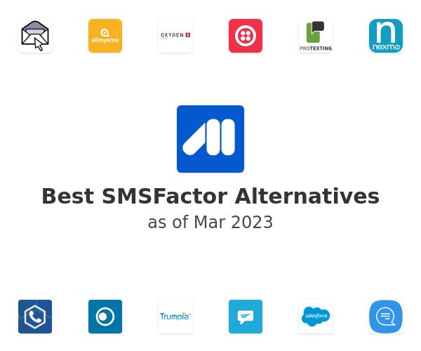 Best SMSFactor Alternatives