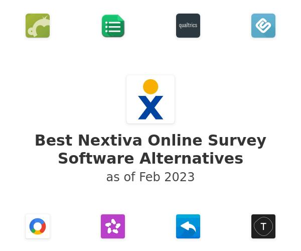 Best Nextiva Online Survey Software Alternatives