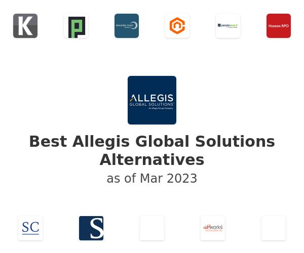 Best Allegis Global Solutions Alternatives