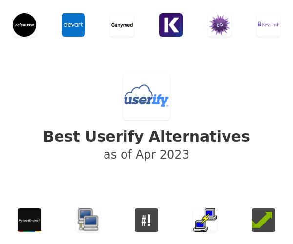 Best Userify Alternatives