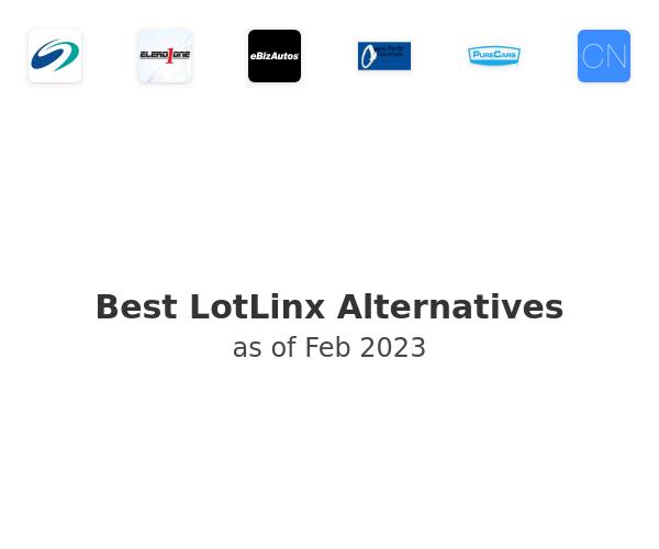 Best LotLinx Alternatives
