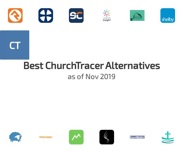 Best ChurchTracer Alternatives