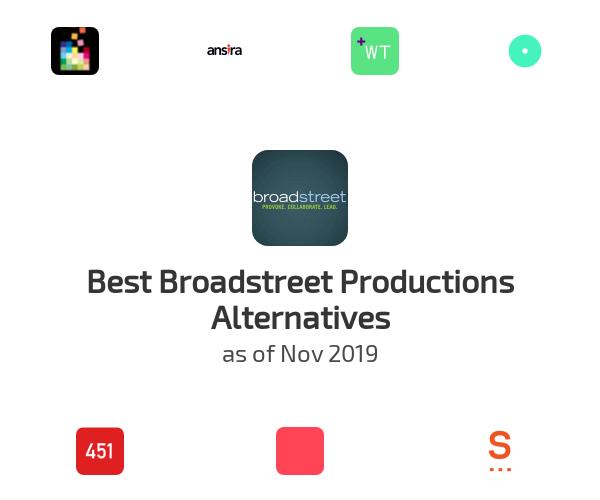 Best Broadstreet Productions Alternatives