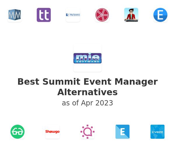 Best Summit Event Manager Alternatives