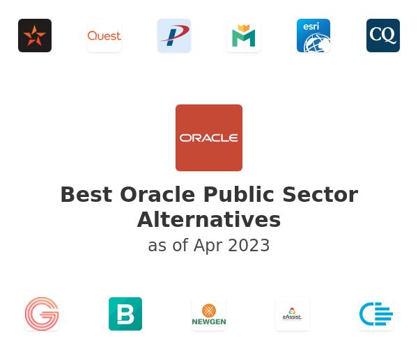 Best Oracle Public Sector Alternatives