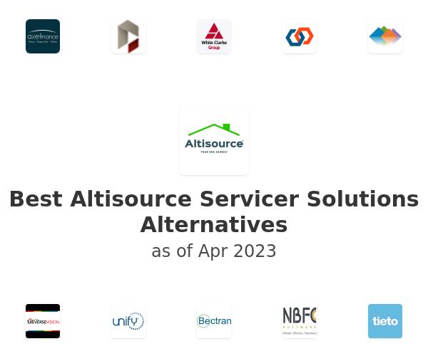 Best Altisource Servicer Solutions Alternatives