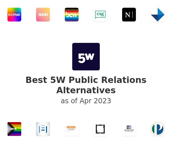 Best 5W Public Relations Alternatives