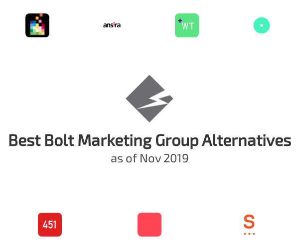 Best Bolt Marketing Group Alternatives