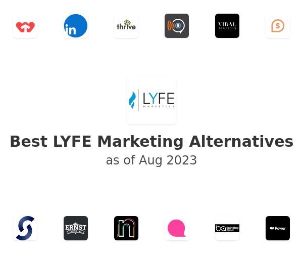 Best LYFE Marketing Alternatives