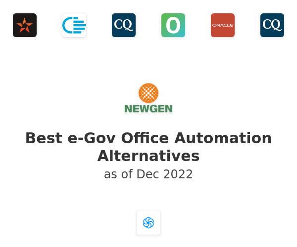 Best e-Gov Office Automation Alternatives