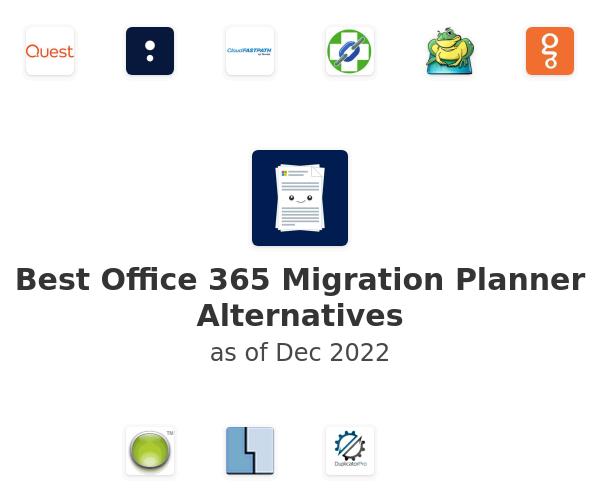 Best Office 365 Migration Planner Alternatives