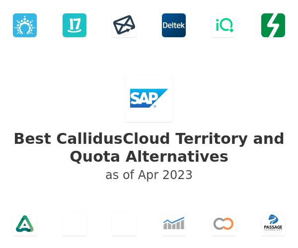 Best CallidusCloud Territory and Quota Alternatives