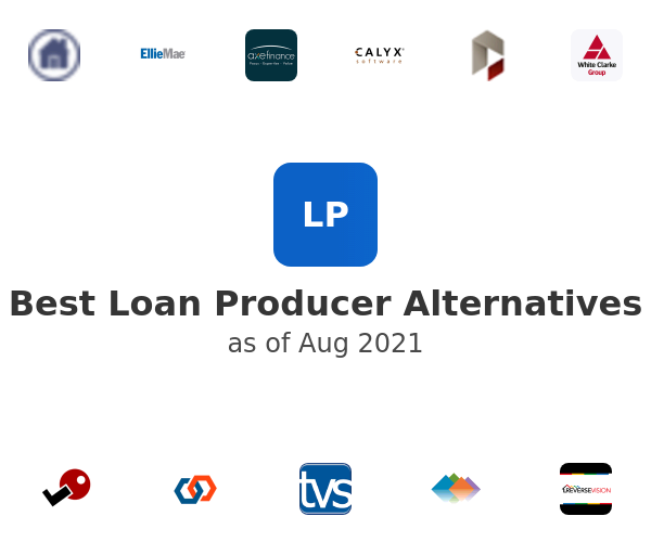 Best Loan Producer Alternatives
