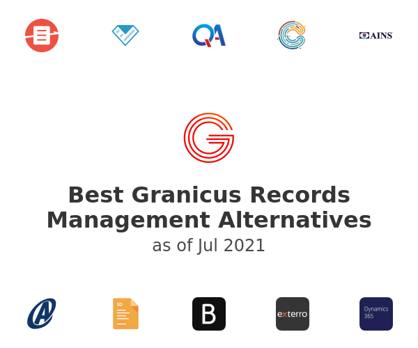 Best Granicus Records Management Alternatives
