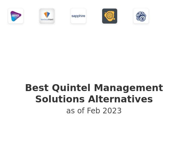 Best Quintel Management Solutions Alternatives