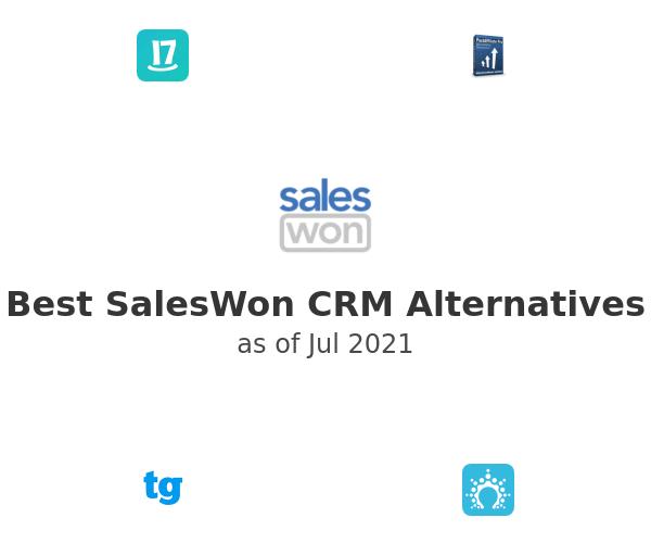 Best SalesWon CRM Alternatives
