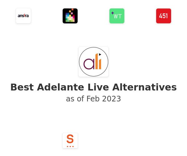Best Adelante Live Alternatives