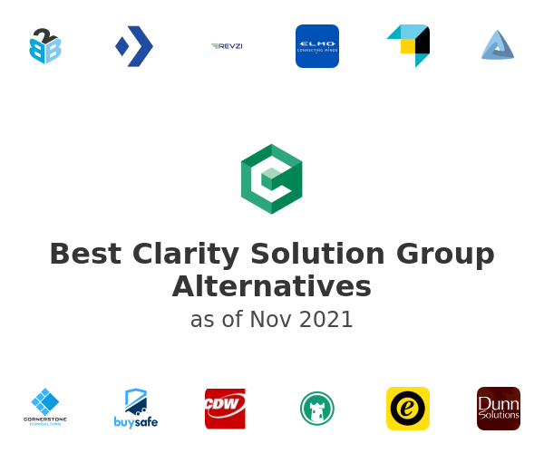 Best Clarity Solution Group Alternatives