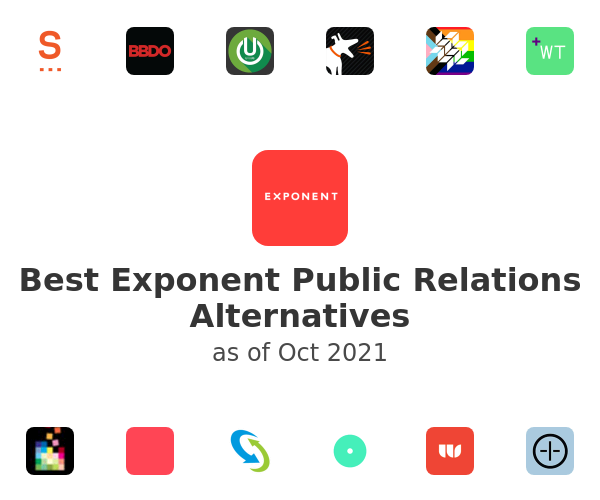 Best Exponent Public Relations Alternatives