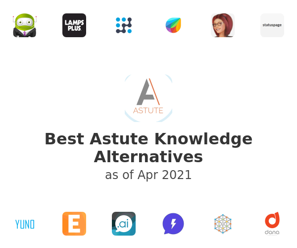 Best Astute Knowledge Alternatives