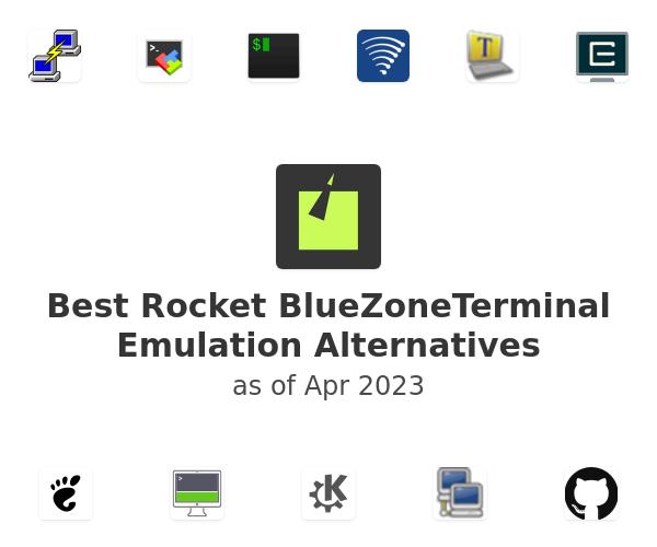 Best Rocket BlueZoneTerminal Emulation Alternatives