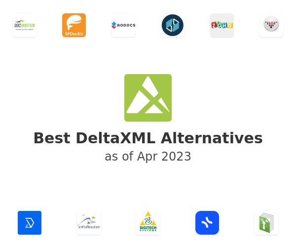 Best DeltaXML Alternatives