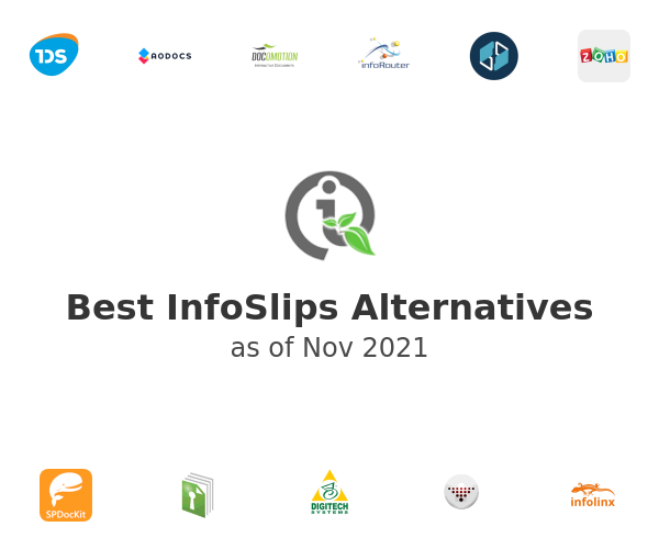Best InfoSlips Alternatives