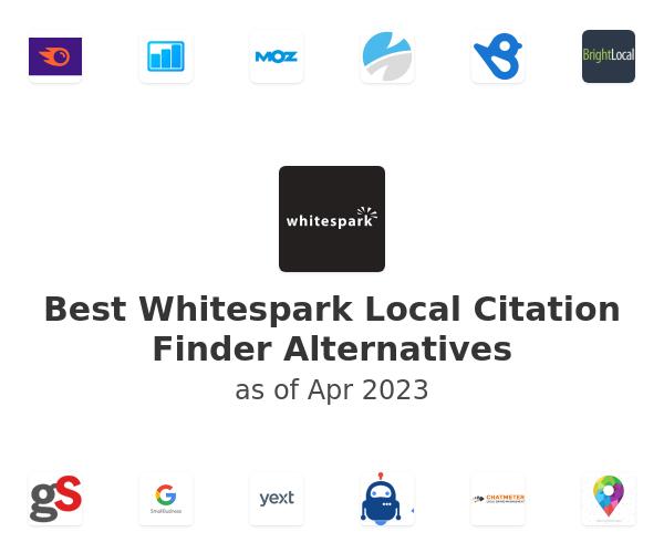 Best Whitespark Local Citation Finder Alternatives