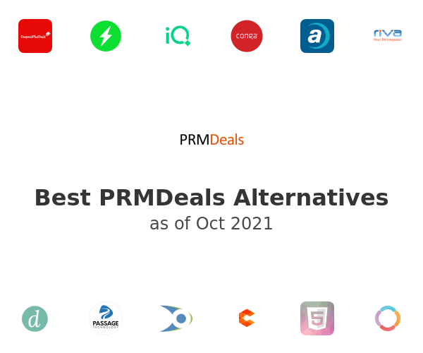 Best PRMDeals Alternatives