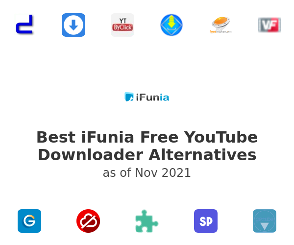 Best iFunia Free YouTube Downloader Alternatives