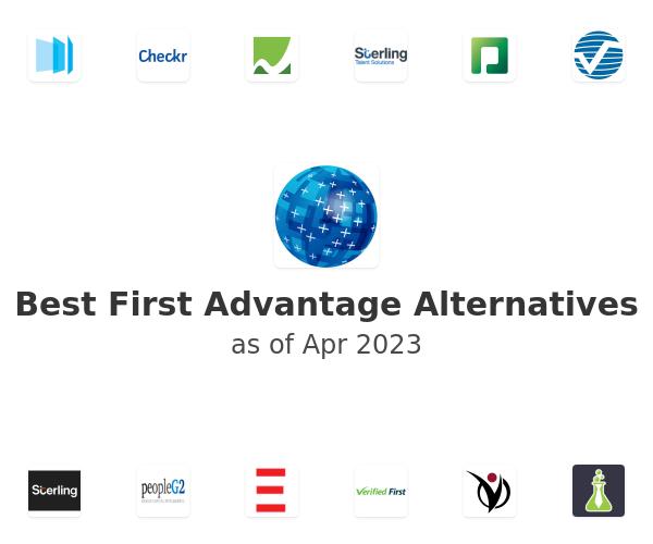 Best First Advantage Alternatives