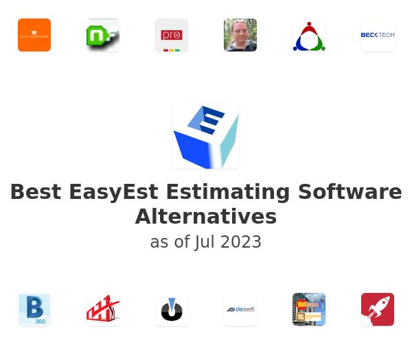 Best EasyEst Estimating Software Alternatives