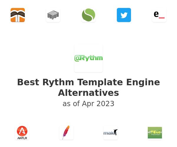 Best Rythm Template Engine Alternatives