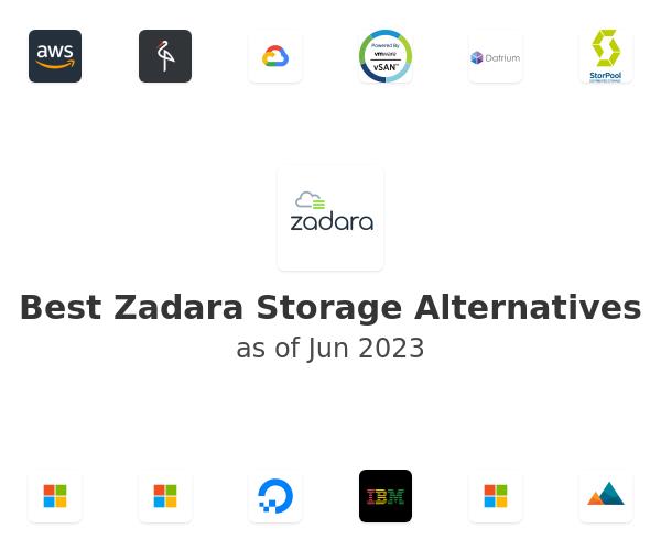 Best Zadara Storage Alternatives