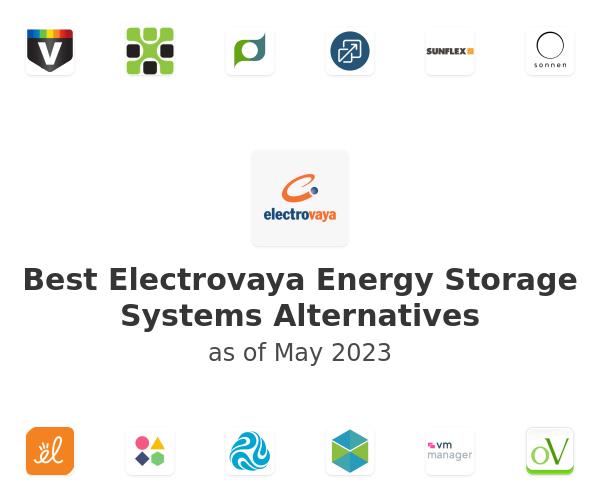 Best Electrovaya Energy Storage Systems Alternatives