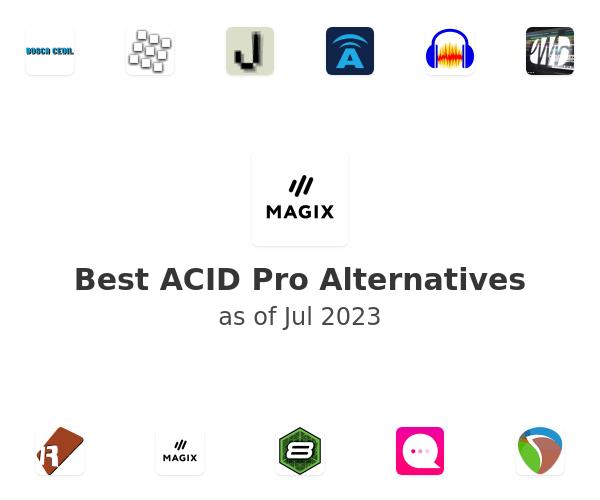 Best ACID Pro Alternatives