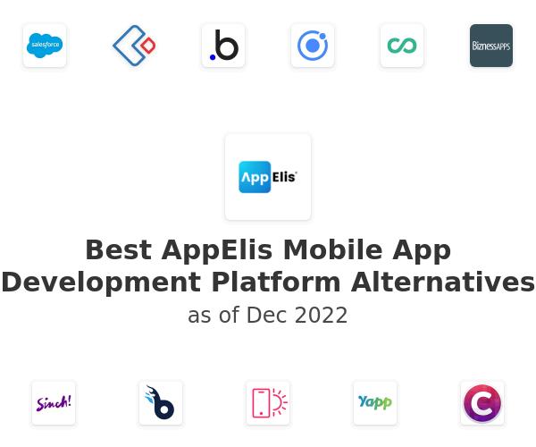 Best AppElis Mobile App Development Platform Alternatives