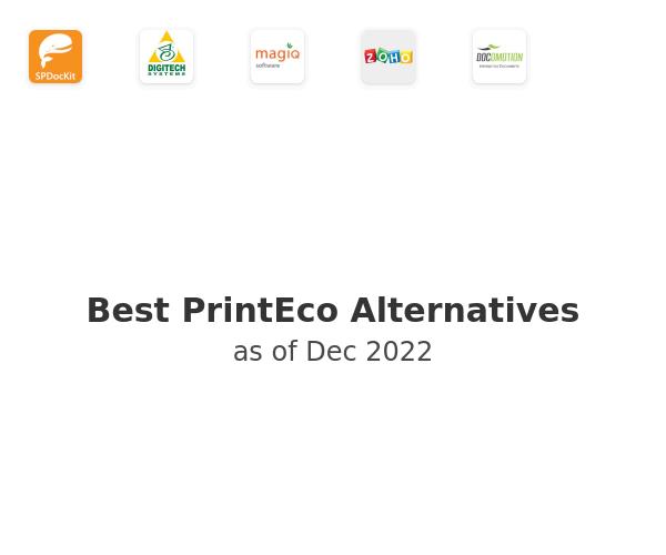 Best PrintEco Alternatives
