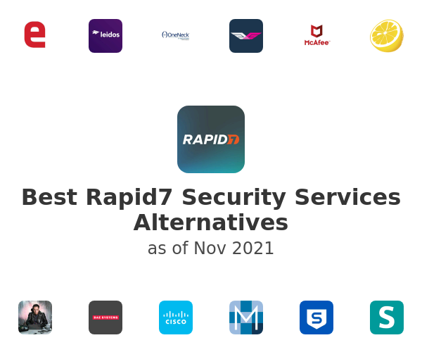 Best Rapid7 Security Services Alternatives