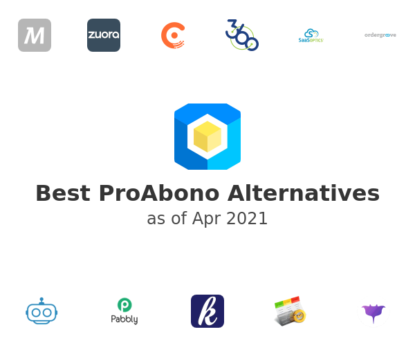 Best ProAbono Alternatives