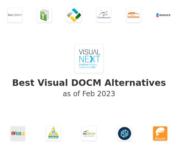 Best Visual DOCM Alternatives