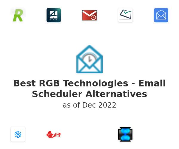 Best RGB Technologies - Email Scheduler Alternatives