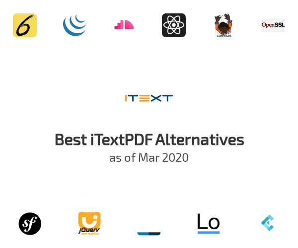 Best iTextPDF Alternatives