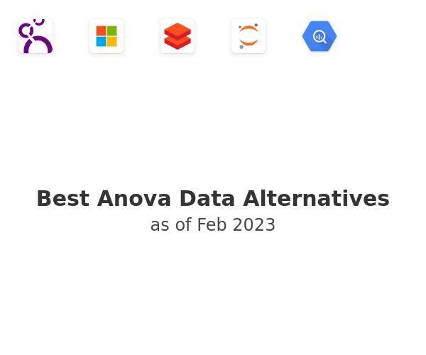 Best Anova Data Alternatives