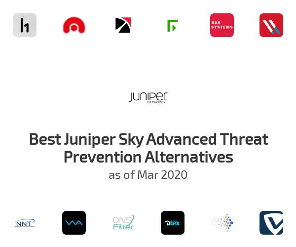 Best Juniper Sky Advanced Threat Prevention Alternatives